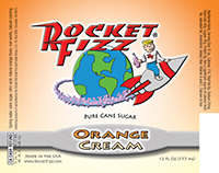 Rocket Fizz Orange Cream