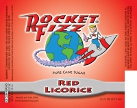 Rocket Fizz Red Licorice