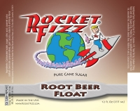 Rocket Fizz Root Beer Float