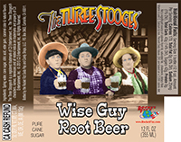 The Three Stooges Wise Guy Root Beer