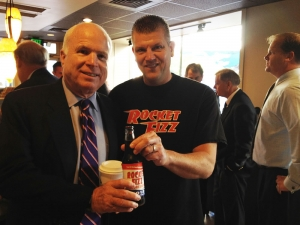 "<p>Even John McCain says ""Vote Rocket Fizz for President!""</p>"