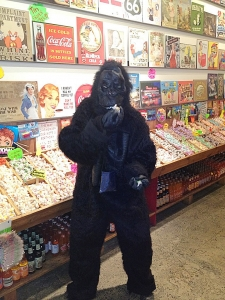 <p>Gorillas In The Taffy</p>