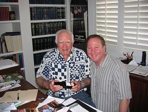 <p>Judge Wapner and Robert Powells</p>