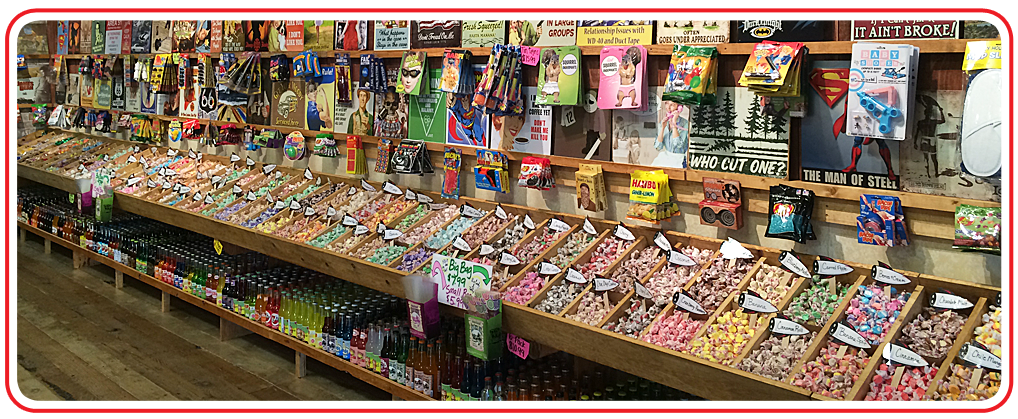 Rocket Fizz stores carry 1000's of unique and fun candies, bottled soda pops, gag gifts & toys, nost