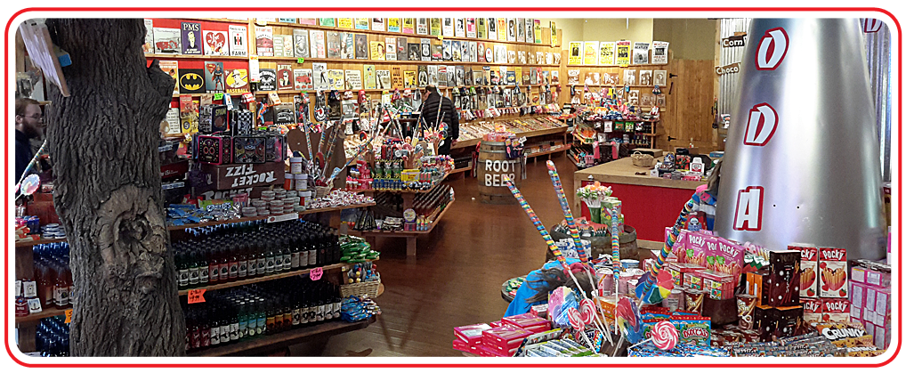 Sensory overload at Rocket Fizz